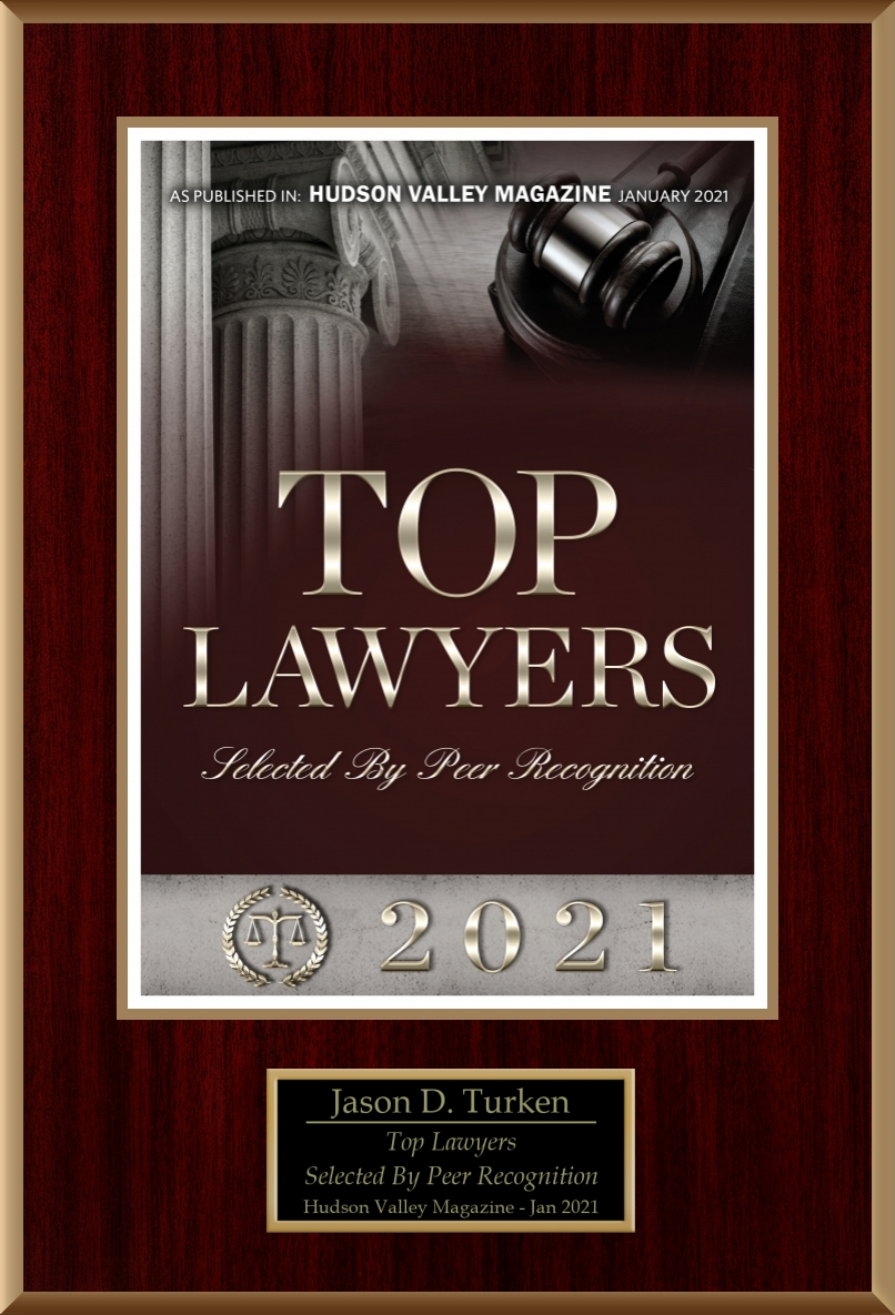 Top Lawyers, Hudson Valley Magazine, January 2021